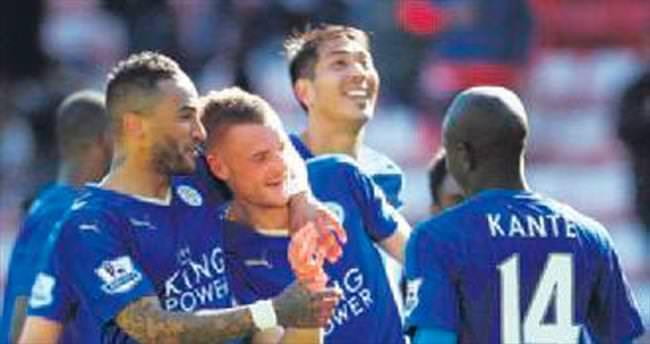 Leicester City tarihin eşiğinde