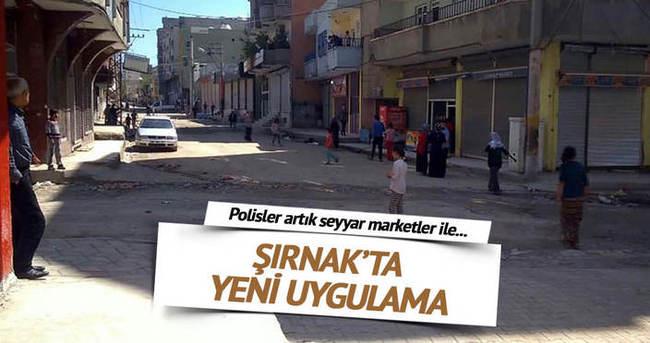 Yasağın olduğu Silopi'de sokaklarda 'seyyar market' satış yapacak