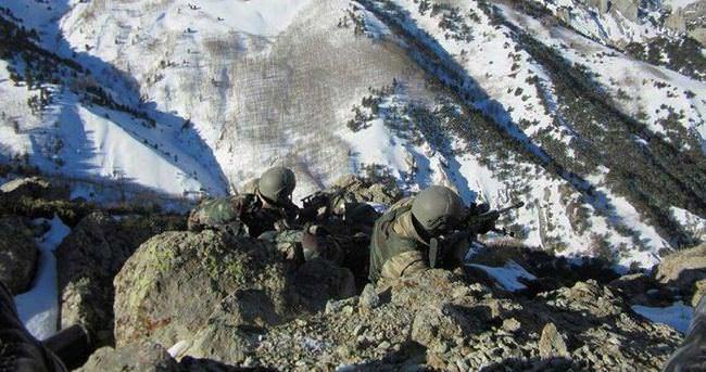 Kars'ta -9 derecede operasyon