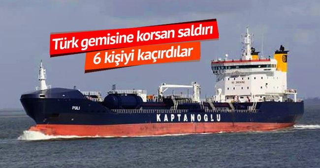 Türk gemisine korsan baskın
