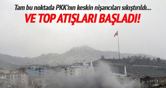 PKK'nın keskin nişancıları sıkıştırıldı!