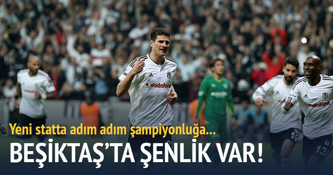 Beşiktaş'ta şenlik var
