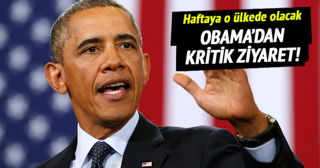 Obama haftaya Suudi Arabistan'a gidecek