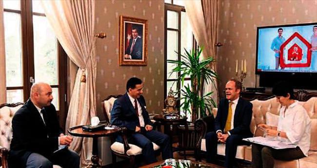 Vali Ercan Topaca'nın AB'li konukları vardı