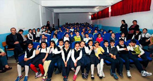 500 öğrenciye çevre eğitimi
