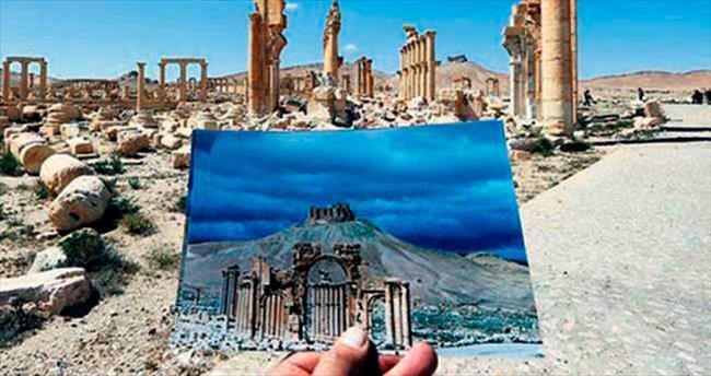 Antik Palmira'dan geriye enkaz kaldı