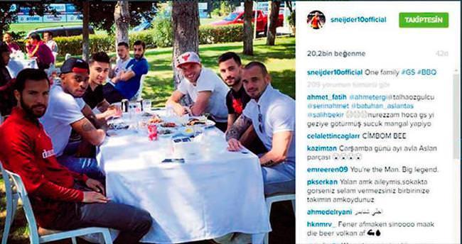 Tek aile Galatasaray!