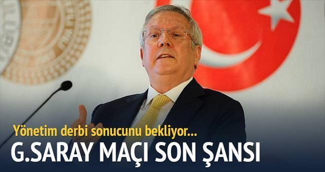 Galatasaray son şansı