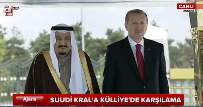 Suudi Kral Cumhurbaşkanlığı Külliyesi'nde