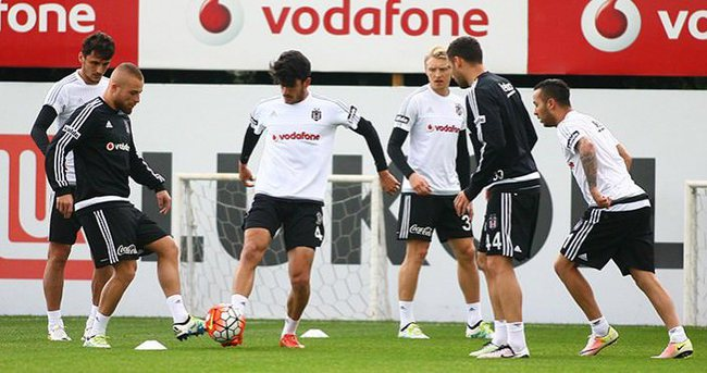 Beşiktaş, Sivasspor'a hazırlanıyor