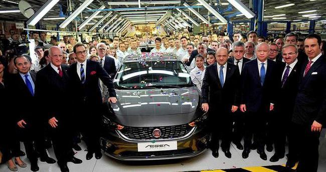 Fiat Egea Hatchback üretime başladı