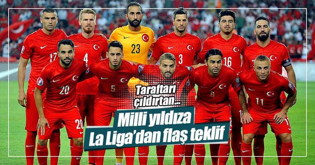 Serdar Aziz'e La Liga'dan flaş teklif