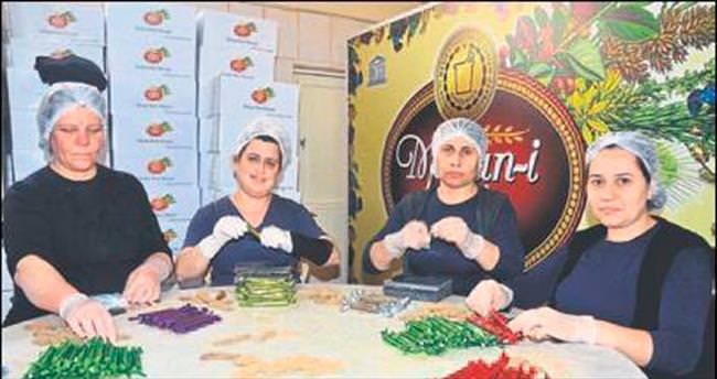 Manisa'da 5 ton mesir hazırlanıyor