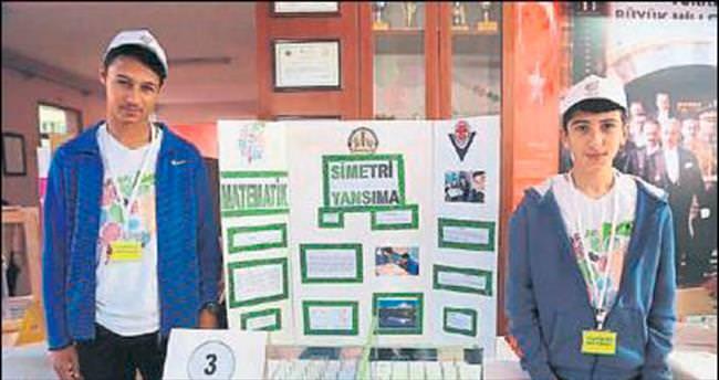 Öğrencilerin projeleri fuarda görücüye çıktı