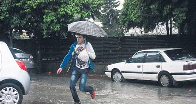 Nisan yağmuru bereketiyle geldi