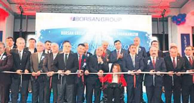 İkinci büyük kablo fabrikası Samsun'da