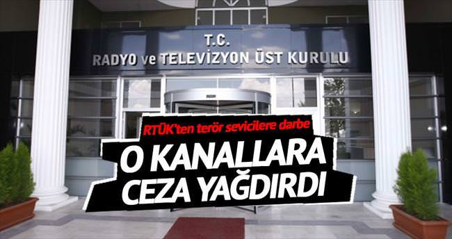 Terör propagandası yapan kanallara ceza
