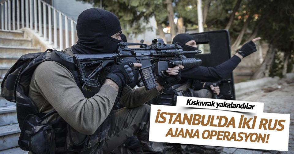 İstanbul'da iki Rus'a kama operasyonu