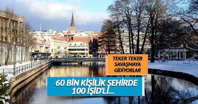 60 binlik şehirde 100 IŞİD sempatizanı var
