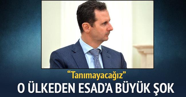 'Suriye'deki seçimleri tanımayacağız'