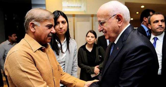 TBMM Başkanı Kahraman Pakistan'da