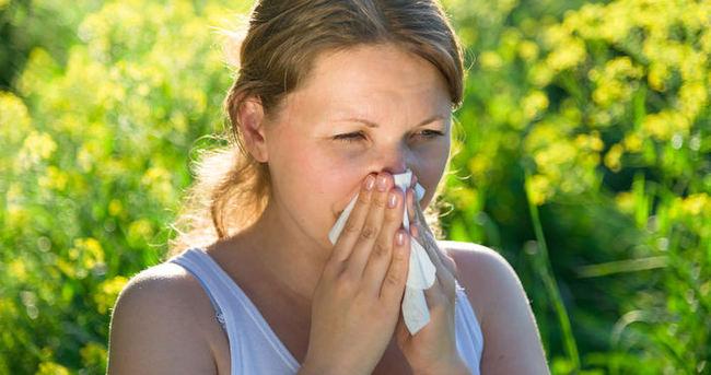 Bahar alerjisi olanlar toza dikkat!