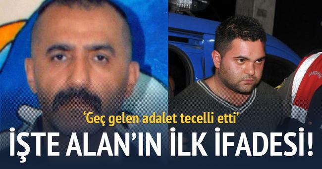 İşte Özgecan'ın katilini öldüren Alan'ın ilk ifadesi!