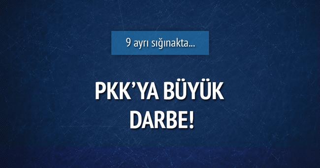 PKK'ya ait 9 sığınak ele geçirildi!