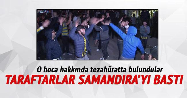 Fenerbahçe taraftarlarından Ersun Yanal sesleri