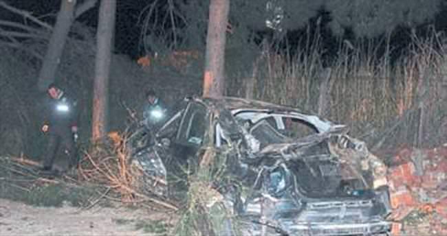 Salihli'de trafik kazası: 1 ölü