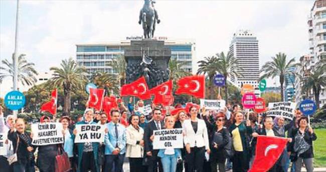İzmir'in 30 ilçesinde Kılıçdaroğlu tepkisi