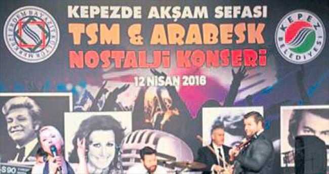 Kepez'de TSM nostaljisi yaşandı