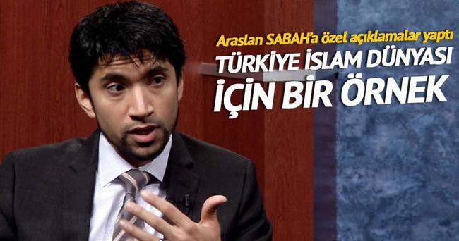 'Türkiye İslam dünyası için örnek'