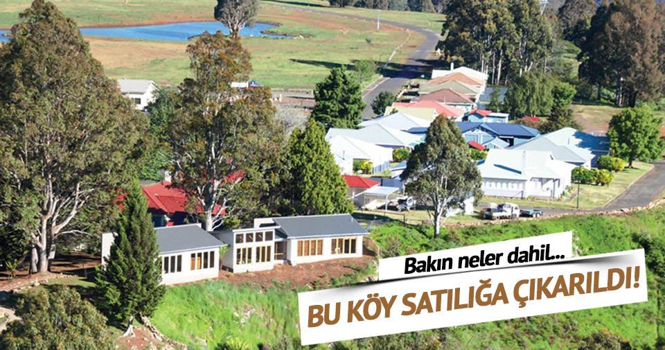 Avustralya'da satılık köy