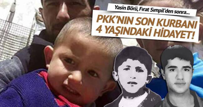 PKK 4 yaşındaki Hidayet'i katletti!