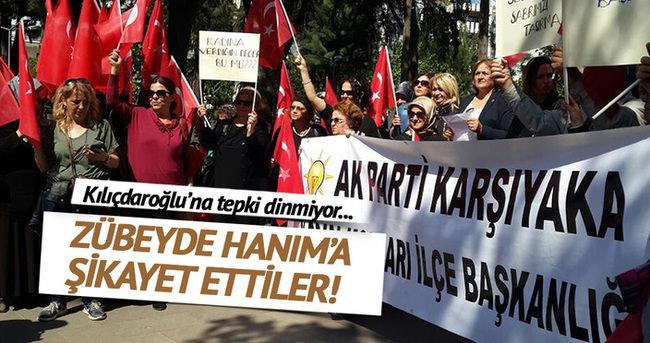 AK Parti'li kadınlar Kılıçdaroğlu'nu şikayet etti