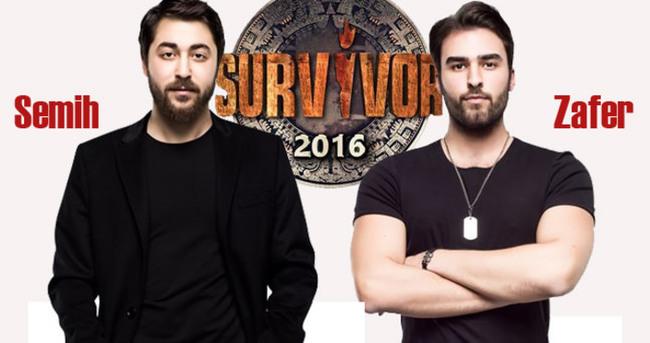 Survivor Semih ile Zafer kavga etti! (VİDEO olarak izle)