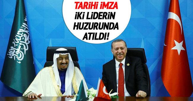 Suudi Türk Koordinasyon Konseyi mutabakat belgesi imzalandı