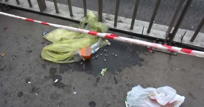 Metrobüs durağına bomba koyan şahıs yakalandı