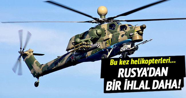 Rus helikopterleri Litvanya hava sahasını ihlal etti!