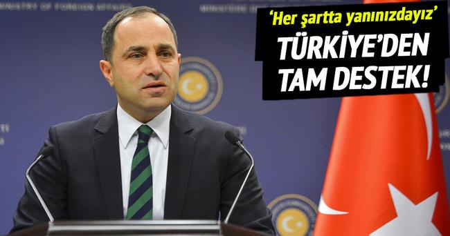 Türkiye'den Kırım Tatarlarına tam destek