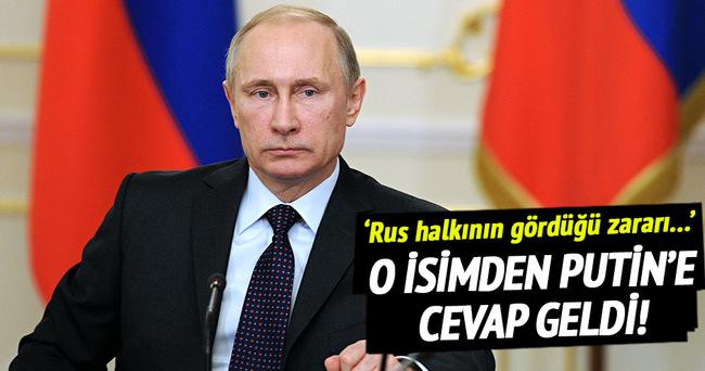 Bakan Tüfenkci'den Putin'e cevap!