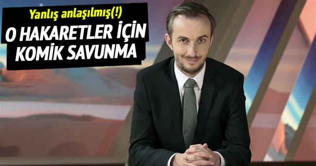 ZDF'deki hakareti böyle savundu!