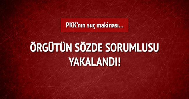 PKK'nın suç makinası yakalandı!