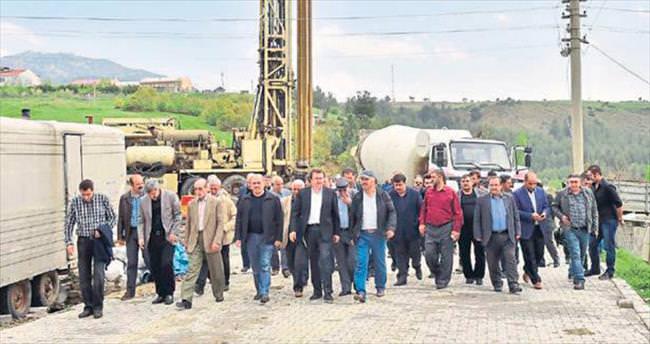 Başkan Erkoç'tan Ilıca'da inceleme