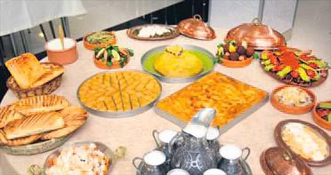 Sivasın lezzetleri ANFA'da sergilendi