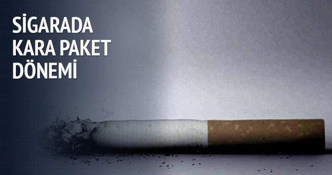 Sigarada kara paket dönemi