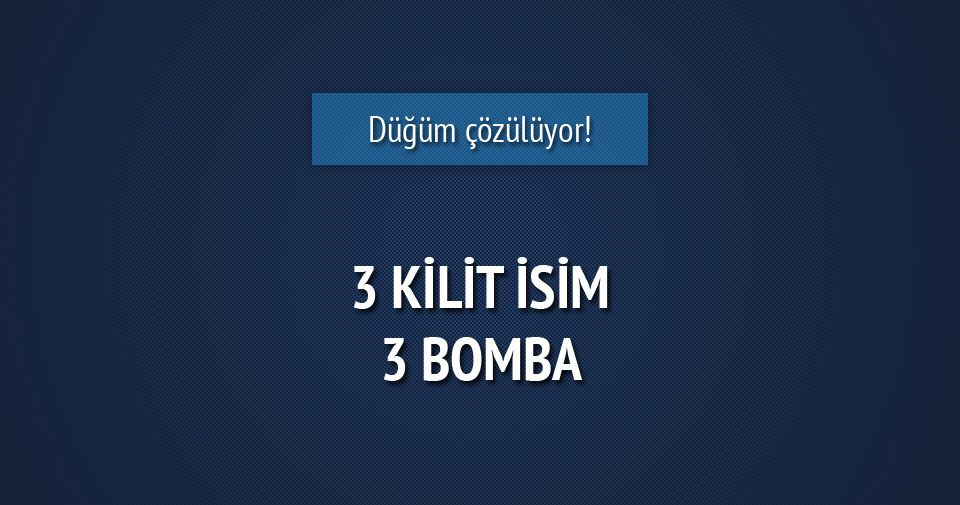 Diyarbakır, Suruç ve Ankara'da 3 kilit isim