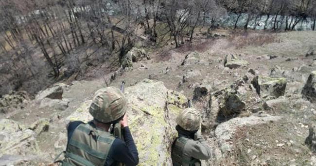 Muş'ta PKK cephaneliği ele geçirildi