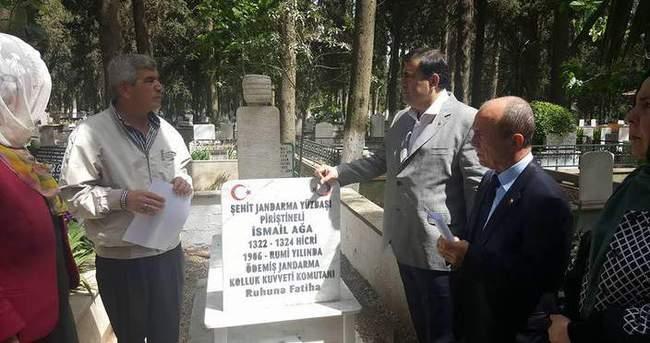 Şehide 50 yıl sonra mezar